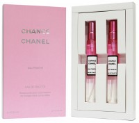 Подарочный набор 2х15 Chanel Chance Eau Fraiche eau de toilette for women