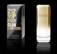 "Carolina Herrera ""212 vip men club edition"" for men 100ml"