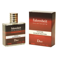 "Тестер Christian Dior ""Fahrenheit"" edt for men, 50ml ОАЭ"