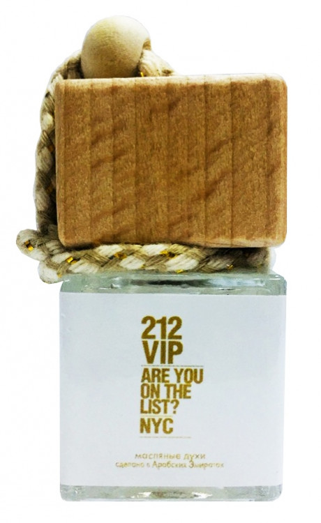 "Ароматизатор  Carolina Herrera ""212 VIP"" 10ml"