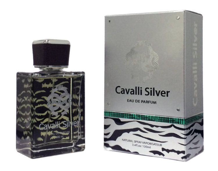 Cavalli Silver for men 100 ml