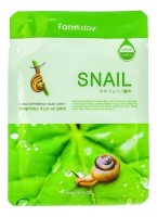 Тканевая маска для лица с муцином улитки Visible Difference Mask Sheet Snail 23 мл