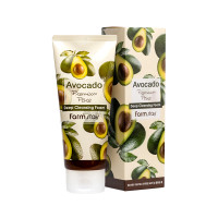 Пенка для умывания с экстрактом авокадо Farm Stay Avocado Premium Pore Deep Cleansing Foam 180мл