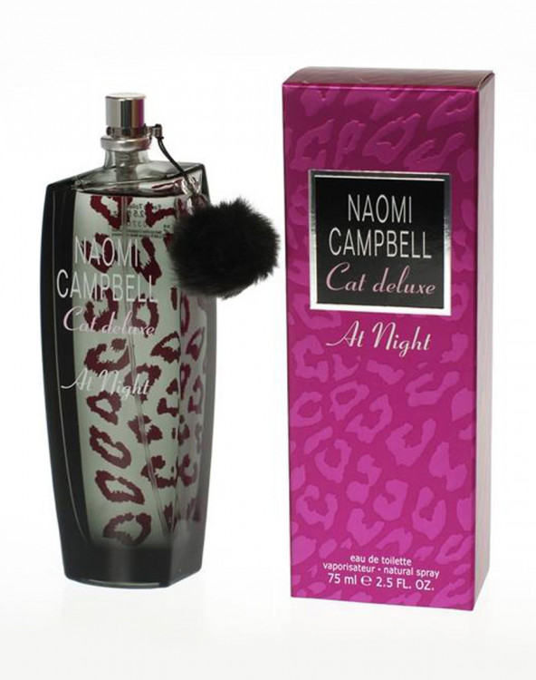 "Naomi Campbell ""Cat Deluxe at Night"" for women 75ml"