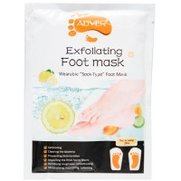 Маска-носки для ног Aliver Exfoliating Foot Mask Отшелушивающая - цитрус