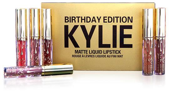 Жидкая помада Kylie Birthday Edition(6шт)