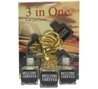 "Car perfume Moschino ""Forever"" ( 3 in 1)"