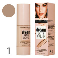 "Тональный крем Maybelline ""Dream Satin Liquid"", 30ml"