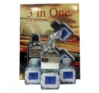 "Car perfume Antonio Banderas ""Splash Blue Seduction"" for men ( 3 in 1)"