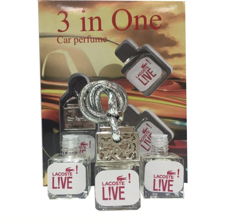 "Car perfume Lacoste ""Live Pour Homme"" ( 3 in 1)"