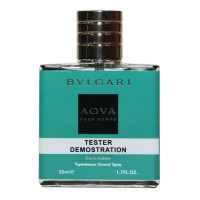 Тестер Bvlgari Aqva Pour Homme edt for men, 50ml