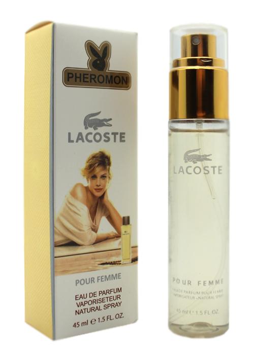 Духи с феромонами Lacoste pour femme 45ml купить по оптовой цене 169 ... 4c350aed106