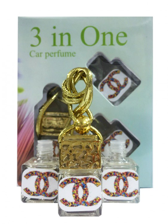 Car perfume Chanel ( 3 in 1)