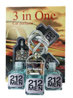 "Car perfume CH ""212"" for men (3in1)"