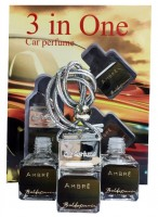 "Car perfume Baldessarini ""Ambre"" ( 3 in 1)"